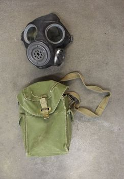 Brittien MK II Light Anti-gas Respirator, käytetty
