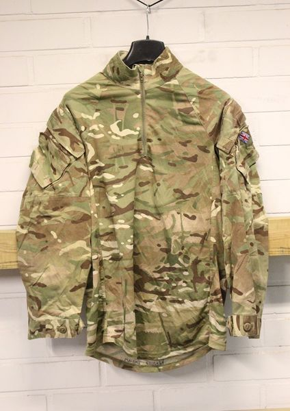 Brittien Under Body Armour Combat Enhanced Protection, Käytetty